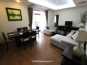 Funished and Serviced Apartment Rental in Truc Bach lake Hanoi