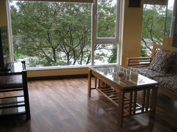 Fully furnished 1bedroom, Apartment for rent in Tran vu street Hanoi