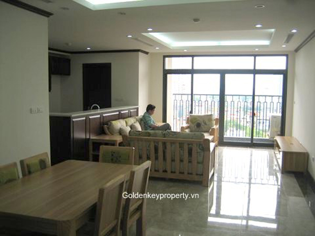 Hanoi Platinum apartment with 2 bedroom, new furnished for rent