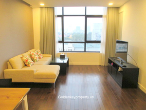 Lancaster apartment 2 beds to rent on Nui Truc Street, Hanoi