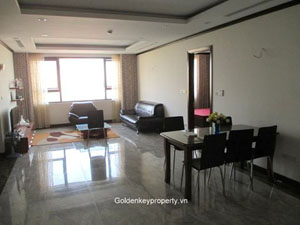Platinum apartment in Nguyen Cong Hoan street, Hanoi rental