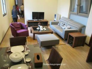 Rental serviced apartment in Ba Dinh, Hanoi, 2 bedroom, furnished