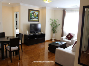 Skyline Hanoi Apartment 2 bedrooms for Rent with pool and Gym