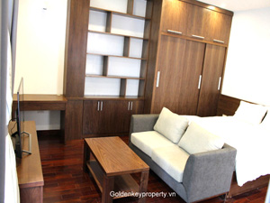Studio apartment for Rent in Kim Ma street, Ba Dinh Hanoi