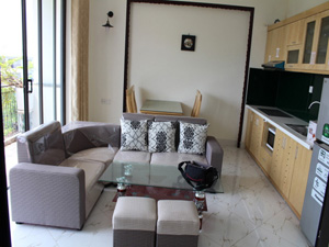 Nghi Tam Aparment, modern 2 bedrooms for Rent view to the lake