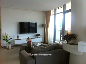 2 beds apartment for rent in Eurowindow building Tran Duy Hung