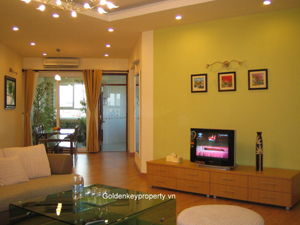 3 bedrooms apartment for rent 146 sqm in Cau Giay district Hanoi