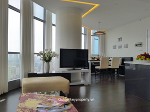 Eurowindow apartment for rent in Tran Duy Hung Street, Hanoi