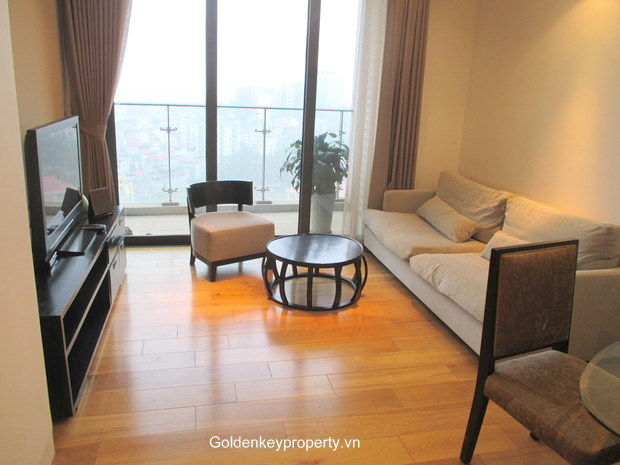 Indochina Plaza Hanoi 2 bedroom apartment in Cau Giay, large balcony and nice view