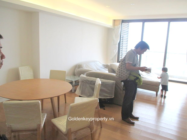 Indochina Plaza Hanoi, 3 bedroom apartment for rent on high floor
