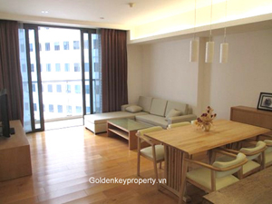 Indochina Plaza Hanoi apartment for rent furnished modern style