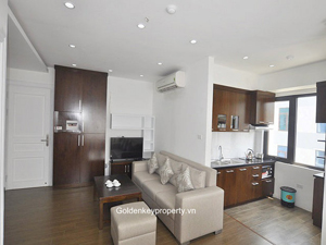 Rental 1 bedroom apartment in Dich Vong street, Cau Giay Hanoi