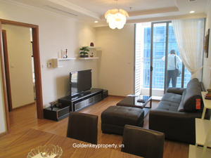 2 beds 86 sqm apartment in Vinhomes Nguyen Chi Thanh Hanoi