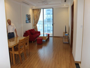 Apartment in Vinhomes Nguyen Chi Thanh 2 bedrooms for lease