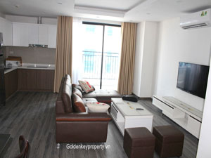 Apartment for rent in Hong Kong Tower 243A De La Thanh street