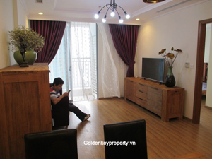 New apartment classical furnished for rent at Vinhomes Hanoi