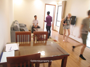 One bedroom apartment in Vinhomes Nguyen Chi Thanh Hanoi