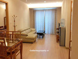 Rental apartment 2 bedrooms in Lang Ha street, Hanoi