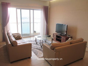 Charming lake view 2 bedroom apartment in Golden Westlake Hanoi