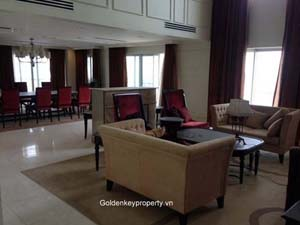Spacious penthouse for rent in Golden Westlake Hanoi