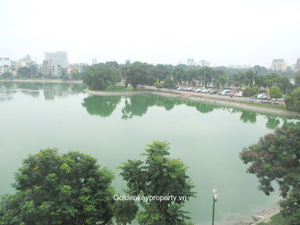 2 beds stunning view apartment in Hai Ba Trung Hanoi rental
