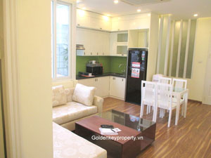 For lease 1 bedroom apartment in Hai Ba Trung District, Hanoi