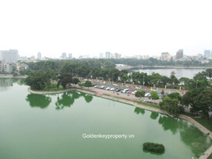 For rent apartment, lake view 3 bedroom in Hai Ba Trung Hanoi