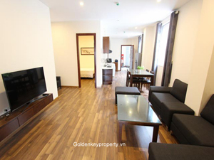 Furnished apartment 2 bedrooms in Hai Ba Trung district, Hanoi
