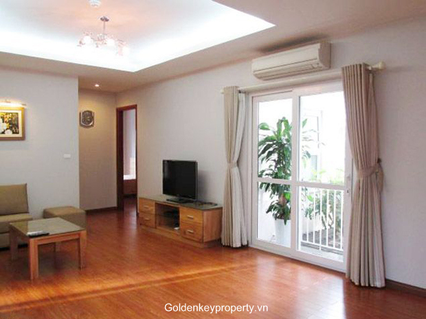 Modern 3 bedroom serviced apartment in Thai Phien, Hanoi furnished, bright