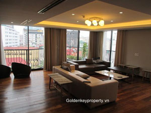 Luxury apartment 3 bedrooms in City center Hanoi for rent