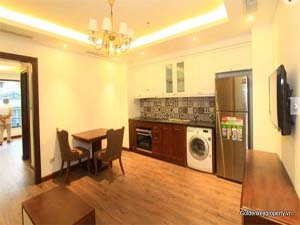 Rental 1 bedrooms furnished apartment in Hoan Kiem district