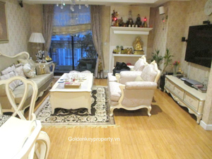 Pacific Place Hanoi apartment rental, 2 bedrooms well furnished