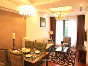 Luxury serviced apartment 2 bedrooms for rent in Trieu Viet Vuong street