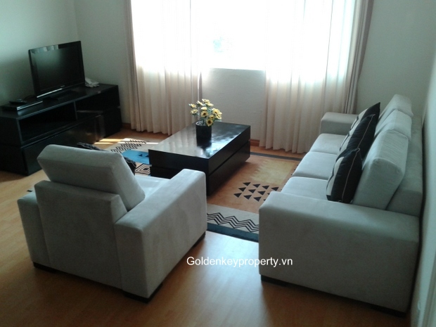 Rainbow Hanoi service apartment for rent, 2 bedrooms full furnished