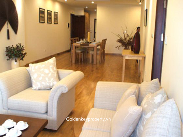 Hanoi Atlanta 3 bedroom serviced apartment rental luxury furnished