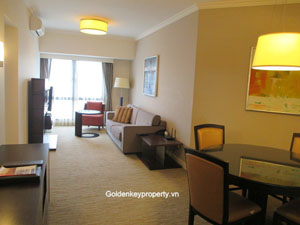 2 beds serviced apartment for rent in Somerset Grand Hanoi