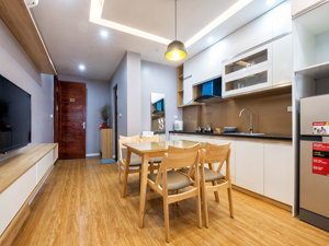 Linh Lang serviced apartment for rent one bedroom