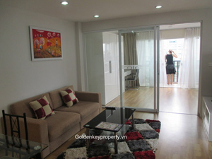 Rental serviced apartment, 1 bedroom in Ngoc Khanh Hanoi