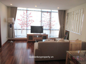 Modern serviced apartment 2 bed in Kim Ma Hanoi, near Thu Le zoo