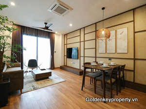 Serviced apartment 2 beds for rent on Pham Huy Thong, Ngoc Khanh area