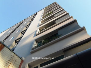 Serviced apartment in Ba Dinh Hanoi for rent, 1 bedroom 60 sqm