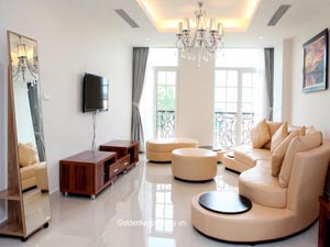 Serviced residences for lease in Ba Dinh, near old quarter