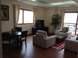 Skyline serviced apartment for rent on Dang Dung street, Hanoi
