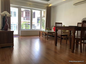 1 bedroom furnished apartment for rent in Truc Bach area