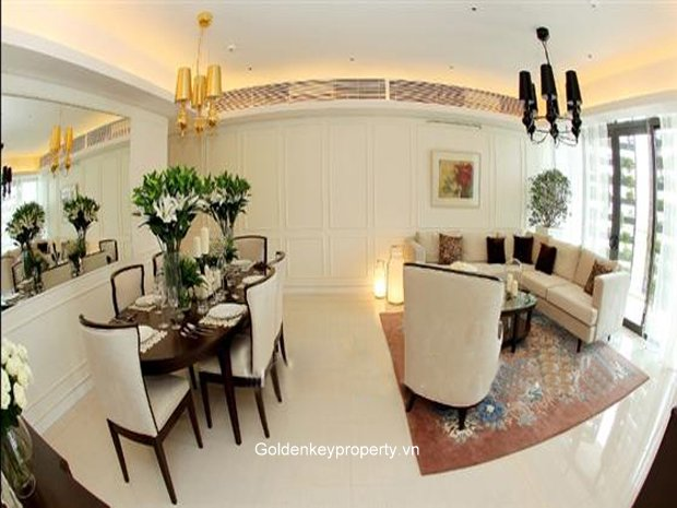 Apartment in Dolphin Plaza Hanoi for rent, 4 bedroom, well furnished