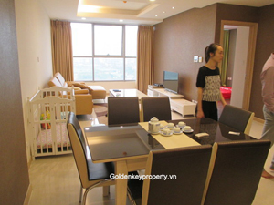 Apartment 2 beds for rent in Thang Long Number One Tower