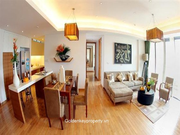 Rental apartment in Dolphin Plaza, My Dinh with 3 bedroom, well furnished