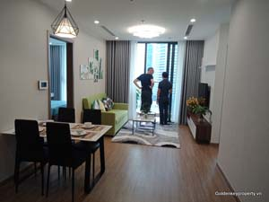 Vinhomes Skylake apartment for rent 2 bedrooms in S2 Tower