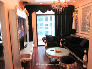 European style apartment for rent in Vincom Park Place Hanoi