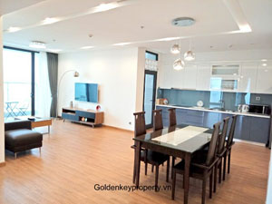 4 Bedrooms Metropolis Hanoi modern apartment for rent in M2 Tower